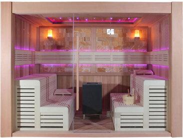 AWT Sauna E1400C rote Zeder 300x300 12kW EOS Cubo