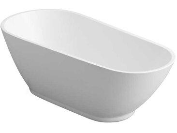 AWT Badewanne freistehend BA337 weiß 180x80