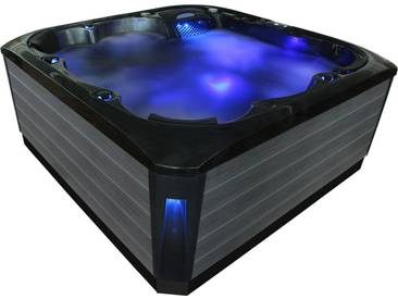 EO-SPA Aussenwhirlpool IN-692 CloudyBlack 215x215 grau