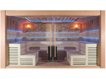 Sauna AWT E1400A rote Zeder 400x300 15.8kW Vitra