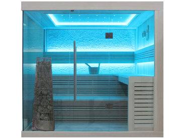 AWT Sauna E1246C Pappelholz 180x180 9kW Kivi