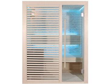 AWT Sauna E1410C Pappelholz 120x105 6.8kW Cilindro