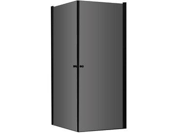 AWT Duschabtrennung LCS0900-B schwarz 90x90