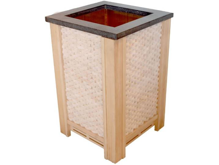 Saunen und Zubehör - Sauna AWTzubehör Ofenschutz für CUBO Öfen Pappelholz  - Onlineshop Moebel.de