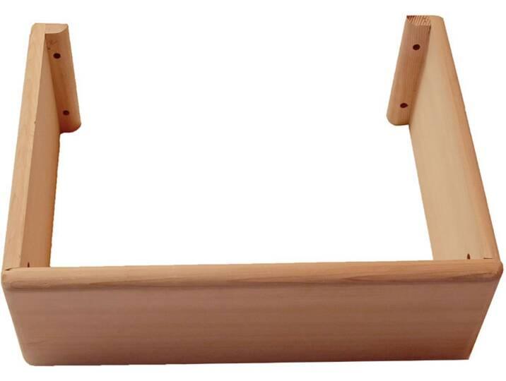 Saunen und Zubehör - Sauna AWTzubehör Ofenschutz für Bi O Mini Öfen Pappelholz  - Onlineshop Moebel.de
