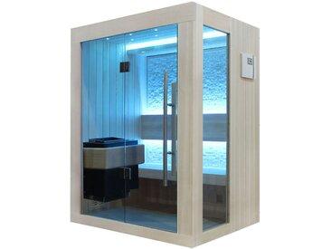 Sauna AWT B1252A Pappelholz 150x110 3kW EOS BiO-Mini