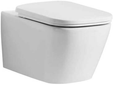 EAGO WC Hänge-WC WD390P spülrandlos