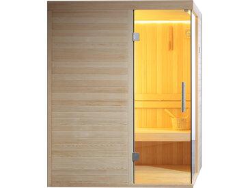 AWT Sauna E1804C Pinienholz 120x120 ohne Saunaofen