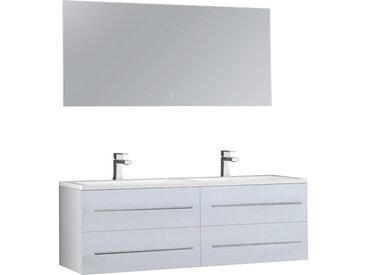 Badmöbel-Set StoneArt San Marino SA-1500 weiß 150x45