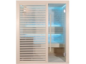 AWT Sauna B1410C Pappelholz 120x105 3kW EOS BiO-Mini
