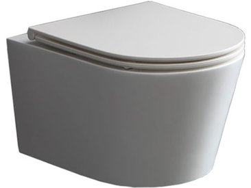 StoneArt WC Hänge-WC TMS-507P weiß 52x38cm matt