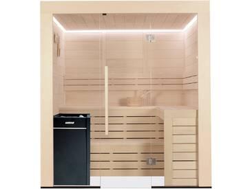 Sauna AWT E1202B Pappelholz 202x198 9kW Vitra