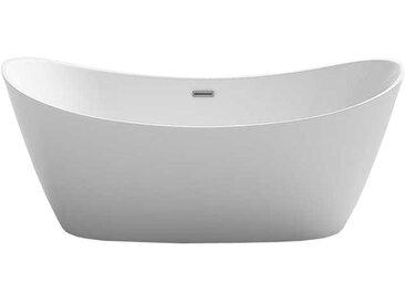 Badewanne freistehend AWT BA109 weiß 170x80