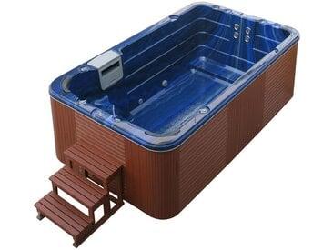 AWT Swim-SPA Innovation 4.0 Summer Saphire 400x230 braun