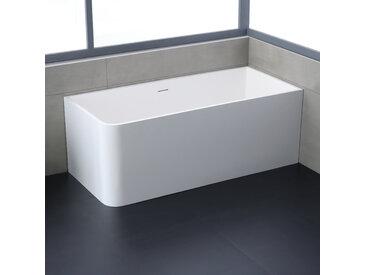 StoneArt Badewanne freistehend BS-534 weiß 156x70 matt