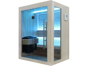 AWT Sauna B1252B Pappelholz 120x110 3kW EOS BiO-Mini