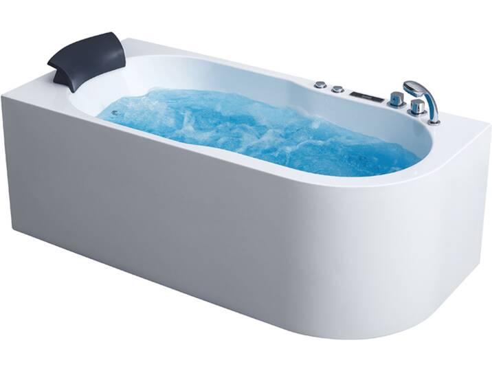 Badewannen und Whirlpools - AWT Whirlpool GE107E 180x130 rechts  - Onlineshop Moebel.de