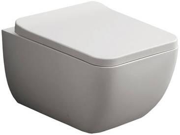StoneArt WC Hänge-WC TMS-505P weiß 54x38cm matt