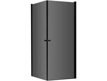 AWT Duschabtrennung LCS1000-B schwarz 100x100