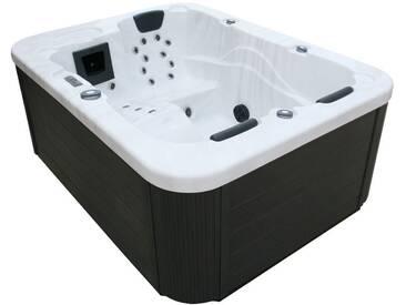 EO-SPA Whirlpool Aussenwhirlpool IN-100 Sterling Silver 210x160 grau
