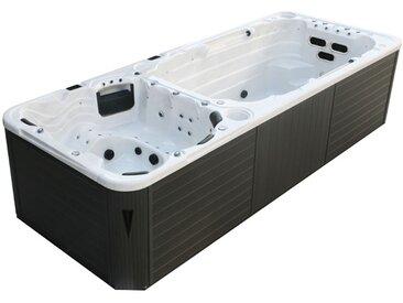 Swim-SPA AWT Innovation 5.8 Dual SterlingSilver 580x230 grau