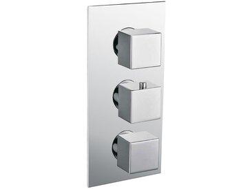 StoneArt Armatur Duscharmatur Lecco 720100B mit Thermostat 4-fach