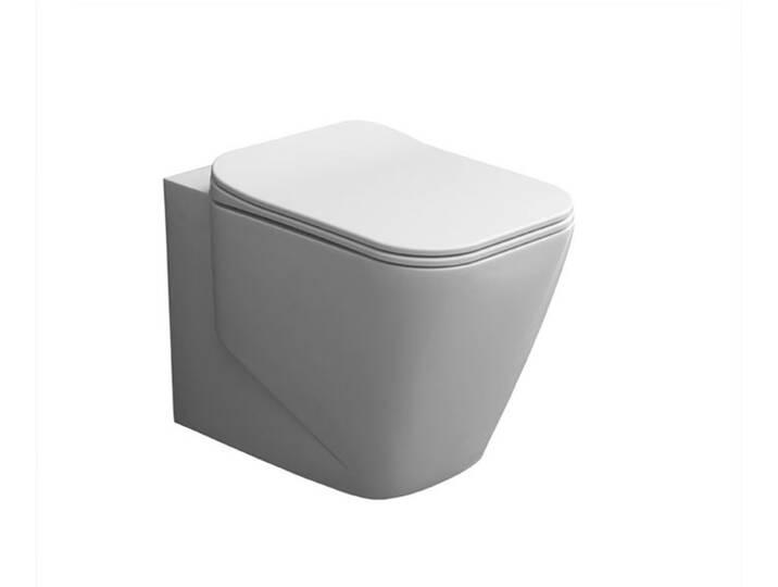 WCs und Zubehör - StoneArt WC Stand WC TMS 601P weiß 56x36cm matt  - Onlineshop Moebel.de