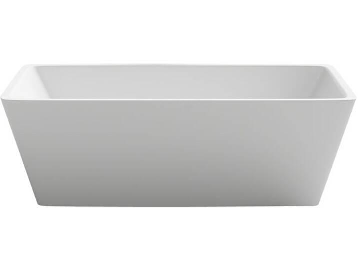 EAGO Badewanne freistehend BA103 weiß 170x80 Weiß