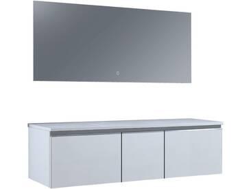 Badmöbel StoneArt Milano ME-1600pro weiß 160x45