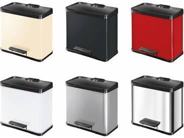 Hailo Öko trio PLUS L Tret-Abfalltrenner 3x9L verschiedene Farben