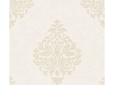 AS Creation Vliestapete Memory 3 Creme-Weiß-Beige, Ornament, 953727 Tapete