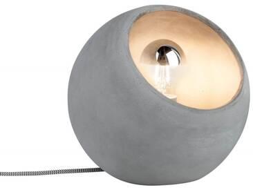 Paulmann Tischleuchte Neordic Ingram 1-flammig  Beton-Kugel-Lampe E 27