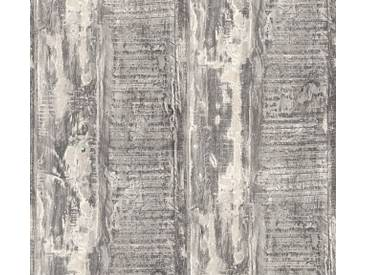 AS Creation Shabby-Holz Vliestapete Best of Wood`n Stone 2nd Edition, Grau, Tapete 354133