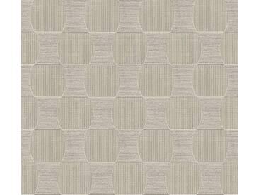 Schöner Wohnen Vliestapete Beige-Metallic abstrakt 358693 Tapete