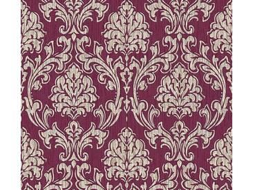 Esprit Home Vliestapete Esprit 13 Rot, Weinrot, Royal, Barock-Druck, 357022 Tapete