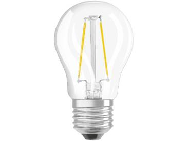 Osram LED Superstar Classic P 40, 4,5 W, E14, Dimmbar, Warmweiß (2700K), Retrofit Filament Lampe