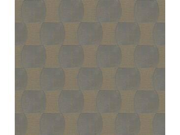 Schöner Wohnen Vliestapete Grau-Metallic 358685 Tapete