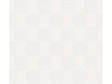 Schöner Wohnen Vliestapete Creme-Metallic abstrakt 358692 Tapete