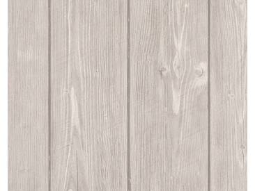AS Creation Holz Vliestapete Best of Wood`n Stone 2nd Edition, Beige, Tapete 896827