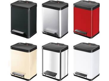 Hailo Öko duo Plus M Tret-Abfalltrenner 2x9L verschiedene Farben