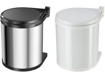 Hailo Compact-Box M Einbau-Abfallsammler 15L Mülleimer Unterschrank Drehtür NEU