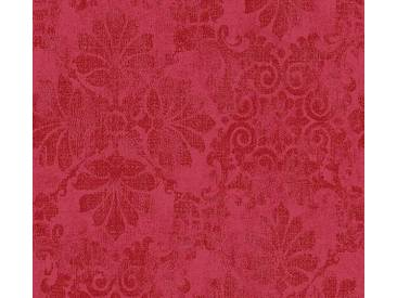 AS Creation Vliestapete Memory 3 Rot-Metallic Muster: Floral, Blumen, Ornament 329873 Tapete