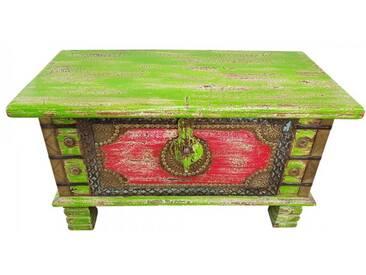 Truhe Kiste Holztruhe Box 80 Vintage Massiv Shabby Chic aus Handarbeit Unikat 3