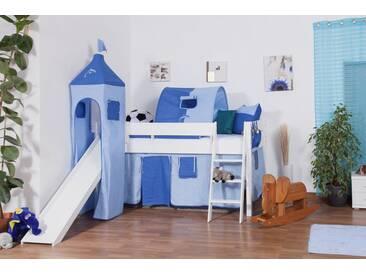 Etagenbett Weiß Mit Rutsche : Kinderzimmer hochbett wei und doppelstockbett mit rutsche