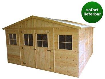 Gartenhaus Innsbruck - 4,14 x 4,20 Meter aus 19mm Blockbohlen