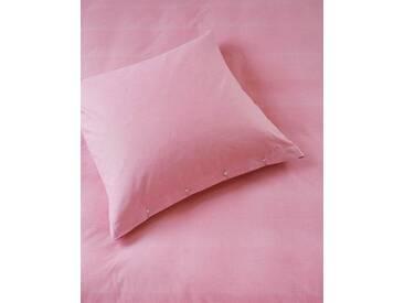 Chambraybettwäsche Aurora-Pink - 220cm x 155cm - Pink - 100 % Baumwolle