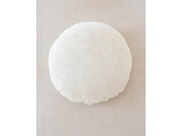 Kissenfüllung 50 cm Ø - bunt - Bezug: 100% Baumwolle, Füllung: 100 % Halbweiße Enten- & Gänsefedern