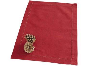 Tischset rot - 33.5cm x 49cm - Rot - 100 % Baumwolle