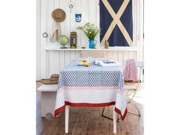 Tischdecke Indienne - 150 x 150 - bunt - 100 % Baumwolle