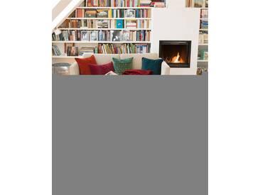 Teppich rote Kreuze - 230cm x 160cm - Rot/Beige/Gelb/Grau/Hellblau - 80 % Wolle, 20 % Baumwolle.